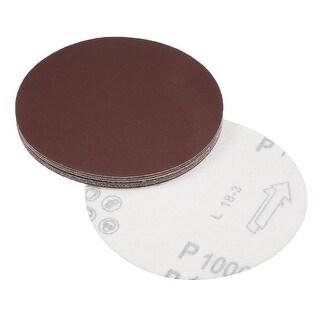 5-Inch Sanding Disc 1000 Grits Aluminum Oxide Flocking Back Sandpapers 10 Pcs - 1000 Grits