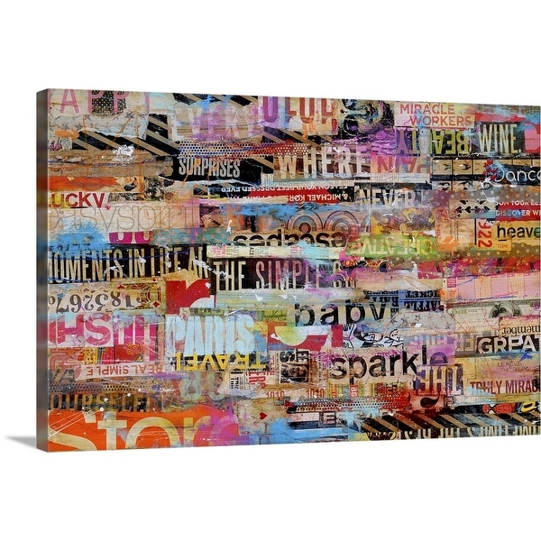 """Metromix 21"" Canvas Wall Art"