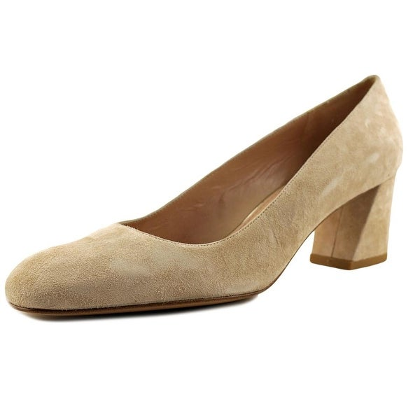 e2211f26ec3 Shop Stuart Weitzman Marymid Women Round Toe Suede Nude Heels - Free  Shipping Today - Overstock.com - 17128637