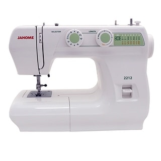 Link to Janome 2212 Sewing Machine - White Similar Items in Sewing & Quilting