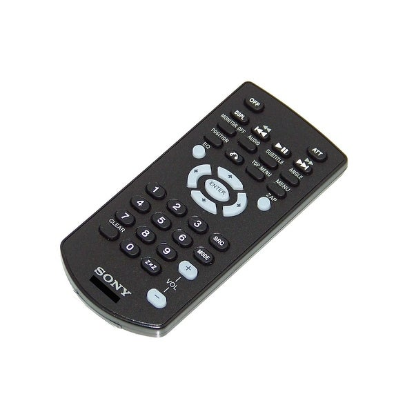OEM Sony Remote Control Originally Shipped With: XAV601BT, XAV-601BT, XAV701HD, XAV-701HD