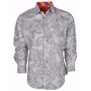 Robert Graham Classic Fit Ottoman Law Numbered Limited Edition Sport Shirt - 2Xl