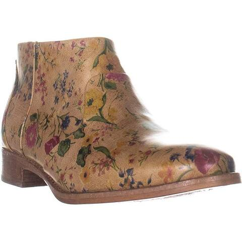 Patricia Nash Womens Carla Leather Closed Toe Ankle Fashion Boots