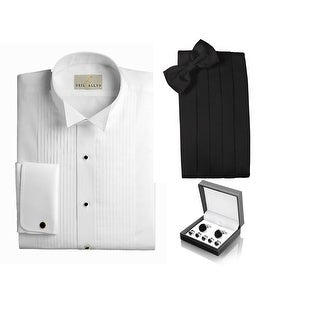Big and Tall Cotton Wing Tuxedo Accessory Package