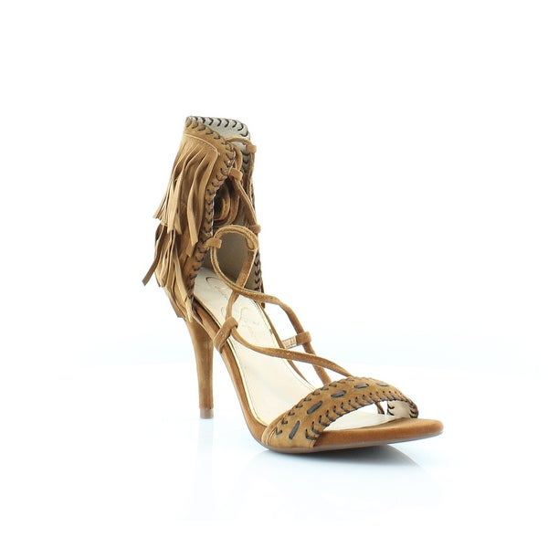 Jessica Simpson Mareya Women's Heels Spice Brown