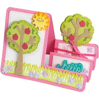 Sizzix Framelits Step-Ups Dies By Stephanie Barnard 19/Pkg-Tree Card