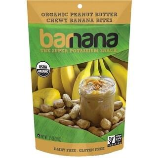 Barnana - Organic Chewy Peanut Butter Banana Bites ( 12 - 3.5 oz bags)