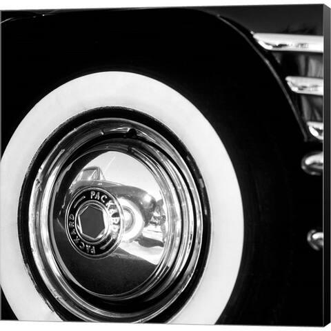 Stuart Roy 'Packard Front Wheel' Canvas Art