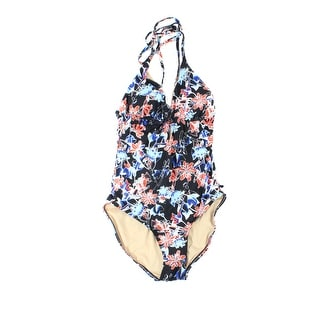 Tart Swim NEW Black Women's Size Small S Floral One-Piece Swimwear