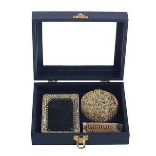 Angels Garment Gold Aesthetic Shape Glitter Holder Coins Wedding Arras