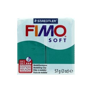 Fimo Soft Clay 57gm Emerald