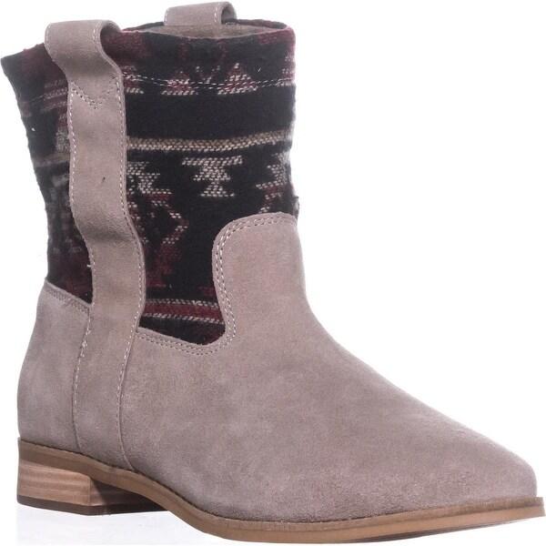 TOMS Laurel Short Cowboy Boots, Desert Taupe - 9.5 us / 41 eu