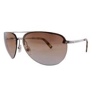 Michael Kors M2001/S 743 Silver Aviator Sunglasses