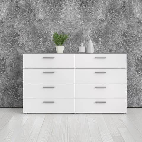 Porch & Den Angus Space-saving 8-Drawer Double Dresser