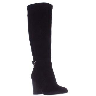 BCBGeneration Denver Knee High Fashion Boots, Black