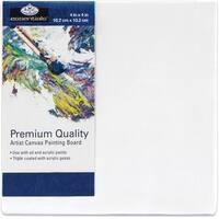 """Essentials(Tm) Premium Canvas Board-4""""X4"""""""