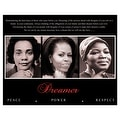 ''Dreamer (Trio): Peace, Power, Respect'' by Anon African American Art Print (8 x 10 in.) - Thumbnail 0