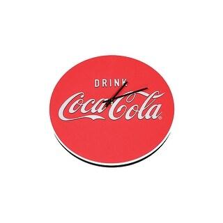 Coca Cola Logo Foam Clock
