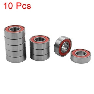 10pcs Universal 6202RS Deep Groove Sealed Shielded Ball Bearing 35 x 15 x 11mm