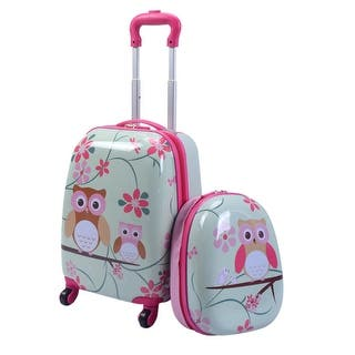 Costway 2Pc 12'' 16'' Kids Luggage Set Suitcase Backpack School Travel Trolley ABS|https://ak1.ostkcdn.com/images/products/is/images/direct/e8bd67718722eb0c57a1e966b461d10844a2dfe7/Costway-2Pc-12%27%27-16%27%27-Kids-Luggage-Set-Suitcase-Backpack-School-Travel-Trolley-ABS.jpg?impolicy=medium