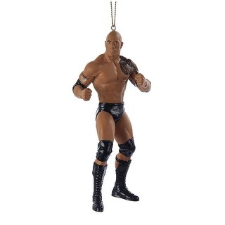 WWE The Rock Resin Ornament