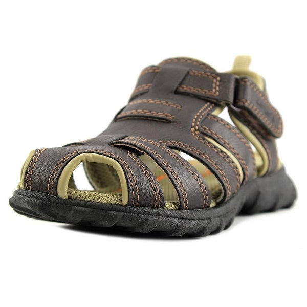 Carter's Warner Round Toe Leather Fisherman Sandal