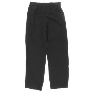 Helmut Lang Womens Flat Front Pull On Dress Pants