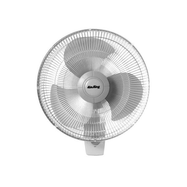 "Air King 9012 12"" 930 CFM 3-Speed Commercial Grade Oscillating Wall Mount Fan"
