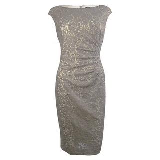 Lauren Ralph Lauren Women's Iridescent Starburst Lace Dress - 6