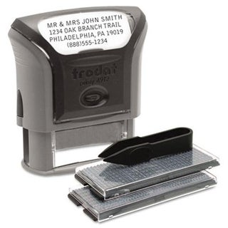 Us Stamp 5915 Self-Inking Do It Yourself Message Stamp 3/4 x 1 7/8