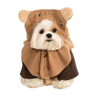 Star Wars Ewok Dog Costume (2 options available)