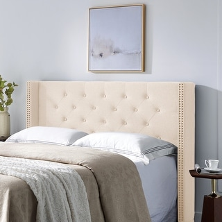 Link to Tourmaline Upholstered Headboard by Christopher Knight Home Similar Items in Bedroom Furniture