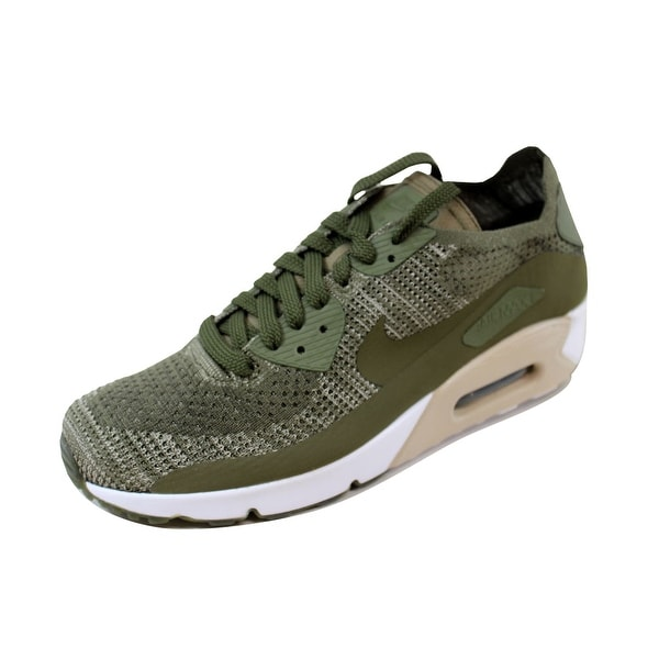 Nike Men's Air Max 90 Ultra 2.0 Flyknit Medium Olive/Medium Olive 875943-200
