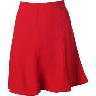 Lauren Ralph Lauren Womens Lined Crepe Flounce Skirt - 8