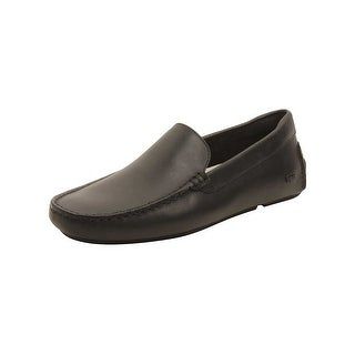 Lacoste Mens Piloter 117 Loafers in Black