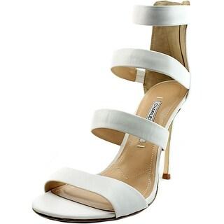 Charles David Olina Women Open Toe Leather Sandals