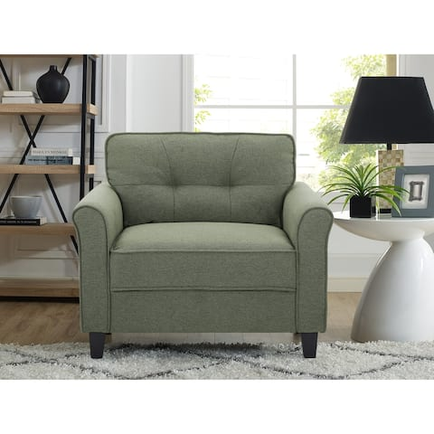 Lifestyle Solutions Hailey Chair with Rolled Arms