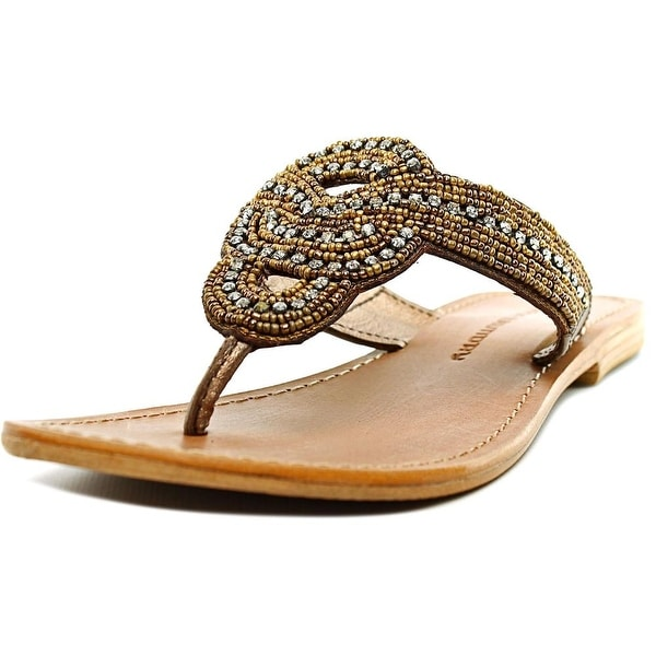 Chinese Laundry at the beach Open Toe Leather Thong Sandal