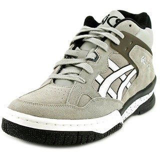 Asics Gel-Spotlyte Men H Round Toe Suede Gray Sneakers