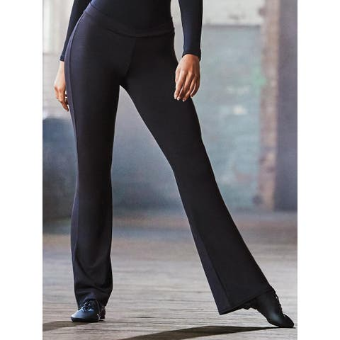 Mid-Rise Stretch Jazz Pant for Active Lifestyles