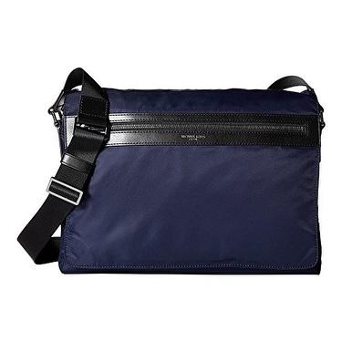 e1f62a519bda69 Shop Michael Kors NEW Blue Indigo Kent Large Messenger/Shoulder Bag - Free  Shipping Today - Overstock - 19999631