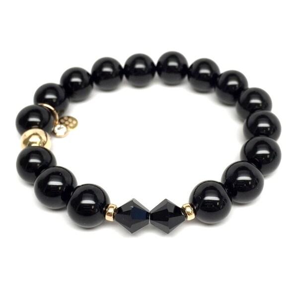 "Black Onyx Paris 7"" Bracelet"
