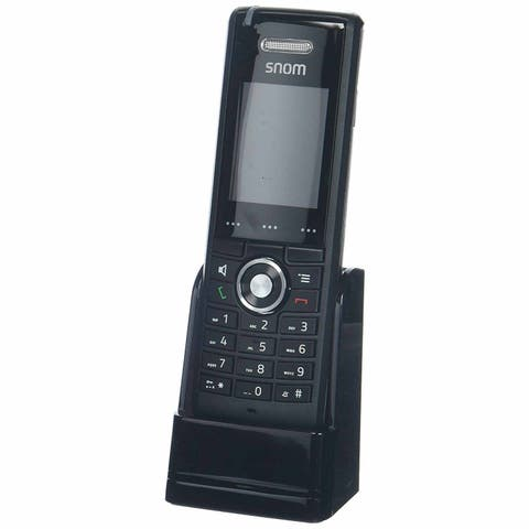 Snom M65-1 Wideband Speakerphone w/ Backlit LCD Display