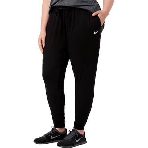 Nike Womens Plus Flow Victory Lounge Pants Loose Fit Mid-Rise - 2X