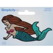 Mermaid - Wrights Iron-On Applique