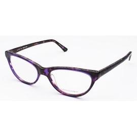 Judith Leiber Women's Classics Eyeglasses Sapphire Tort - S