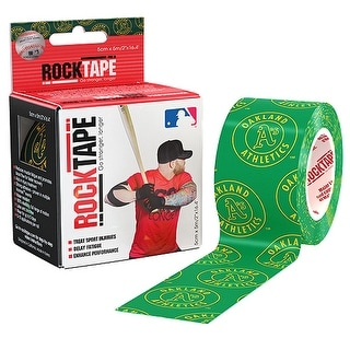 """RockTape 2"""" MLB Active Recovery Kinesiology Tape - Oakland A's - oakland a's"""