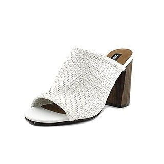 Design Lab Womens Nikky Mules Open Toe