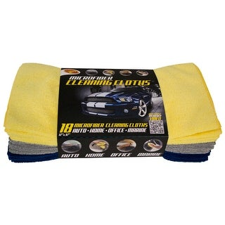 Detailer's Choice 3-541 Microfiber Cleaning Cloth
