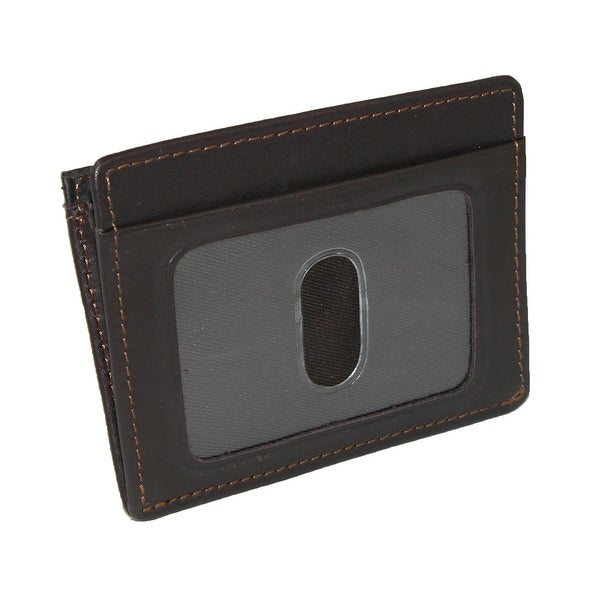 DOPP Leather Front Getaway Pocket Wallet - One size